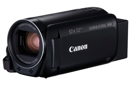 Canon Video HF R806 BK  1960C012AA Video Kameras