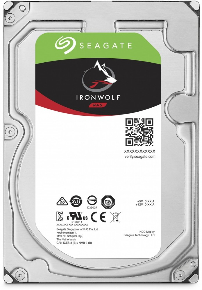 Seagate IronWolf HDD 3.5'' 6TB SATA3 7200RPM 256MB cietais disks