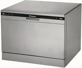 Candy CDCP 6/E-S Freestanding, 55 cm, 6, Energy efficiency class A+, Silver, 6 Veļas mašīna