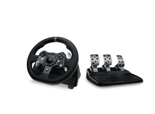 Logitech G920 Driving Force for PC, Xbox One spēļu konsoles gampad