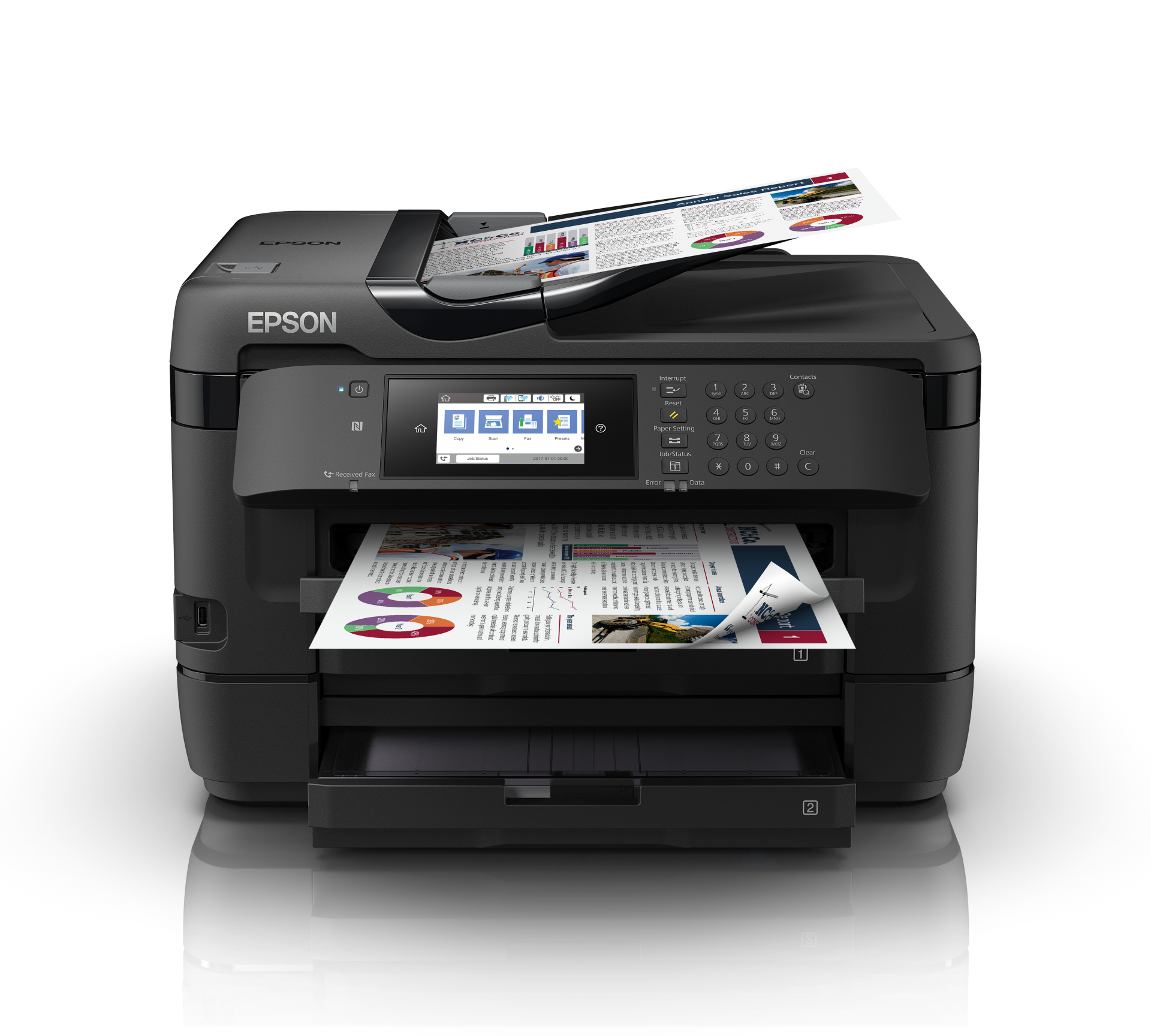 Epson WorkForce WF-7720DTWF printeris