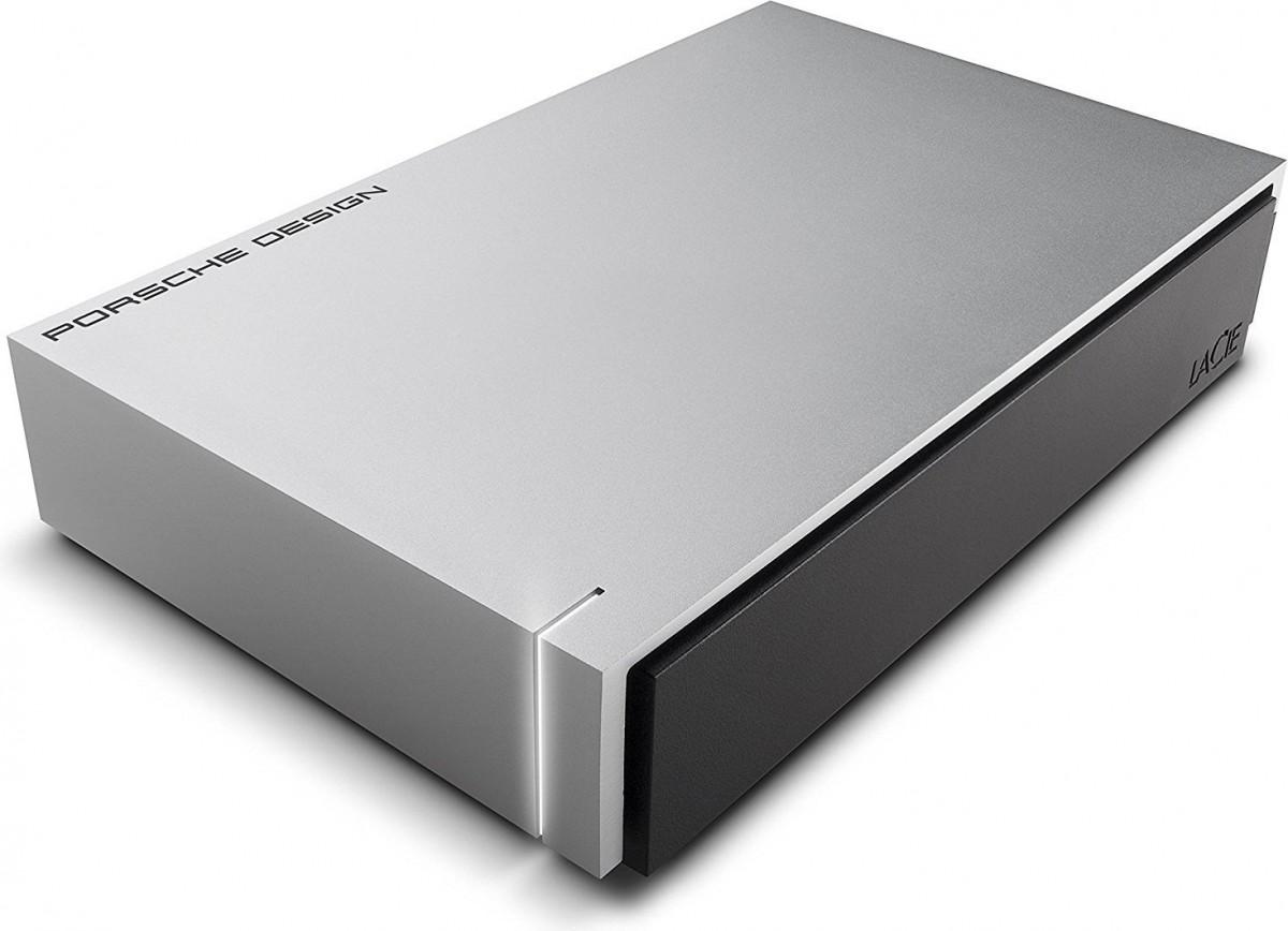 LaCie Porsche Design 4TB, USB 3.0, for MAC, Aluminium, External Ārējais cietais disks