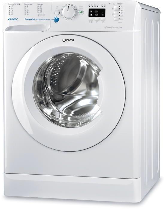 BWA71083X W PL Indesit  Washing Machine Veļas mašīna