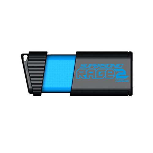 Patriot Supersonic Rage2 128GB USB3.0 Flash Drive R/W 400MB/300MB USB Flash atmiņa