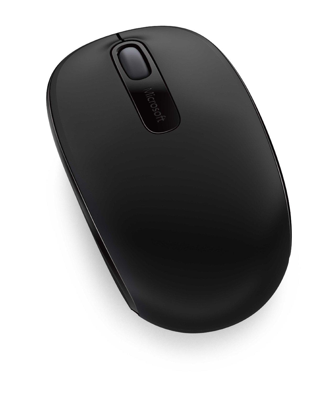 Microsoft Wireless Mobile Mouse 1850 - BLACK Datora pele