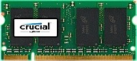CRUCIAL NB MEMORY 2GB PC5300 DDR2/SO CT25664AC667 operatīvā atmiņa