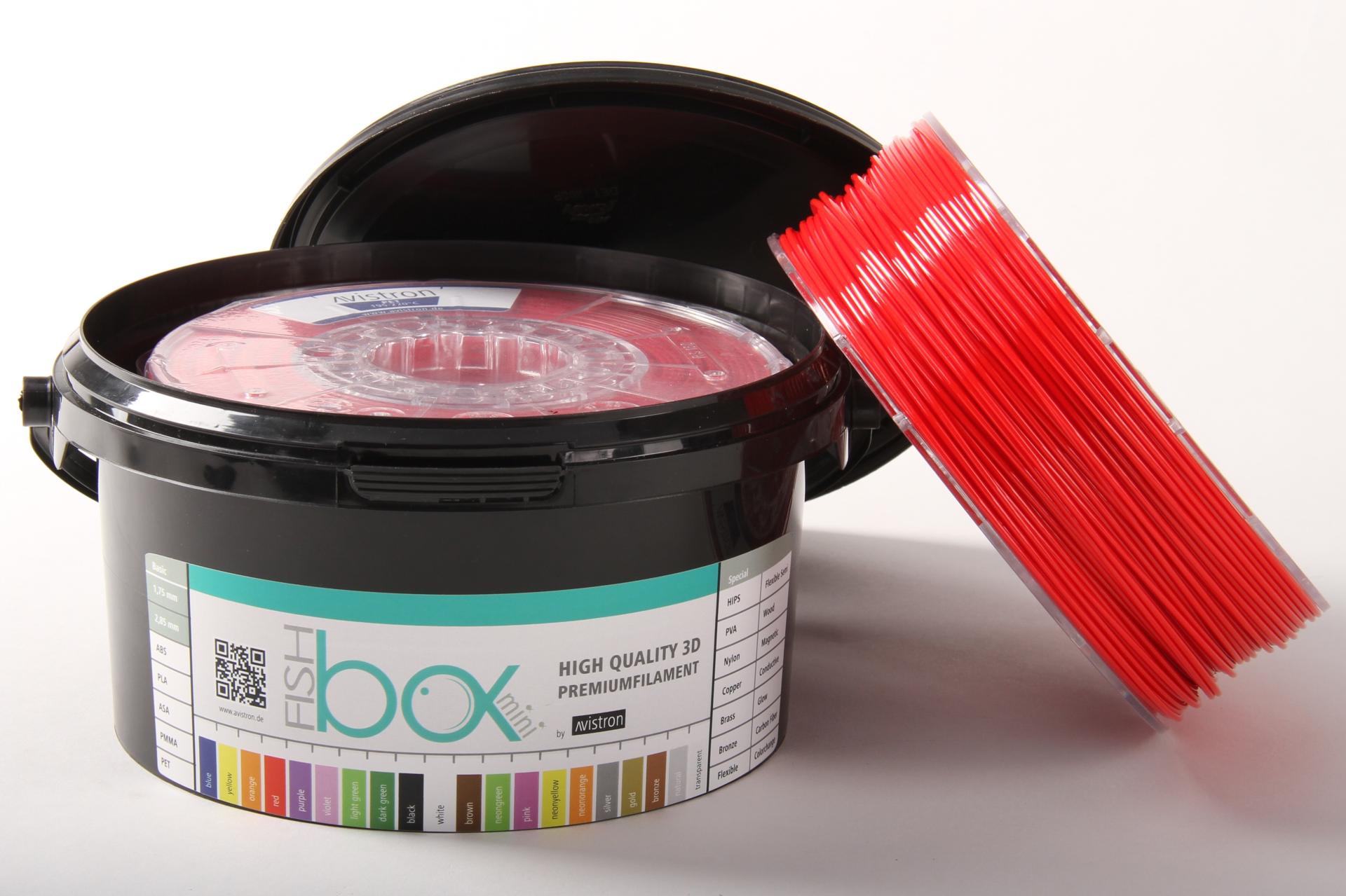 FIL Avistron PETG 1,75mm red 500g 3D printēšanas materiāls