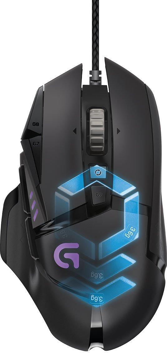 LOGITECH G502 gaming Proteus Spectrum RGB Datora pele