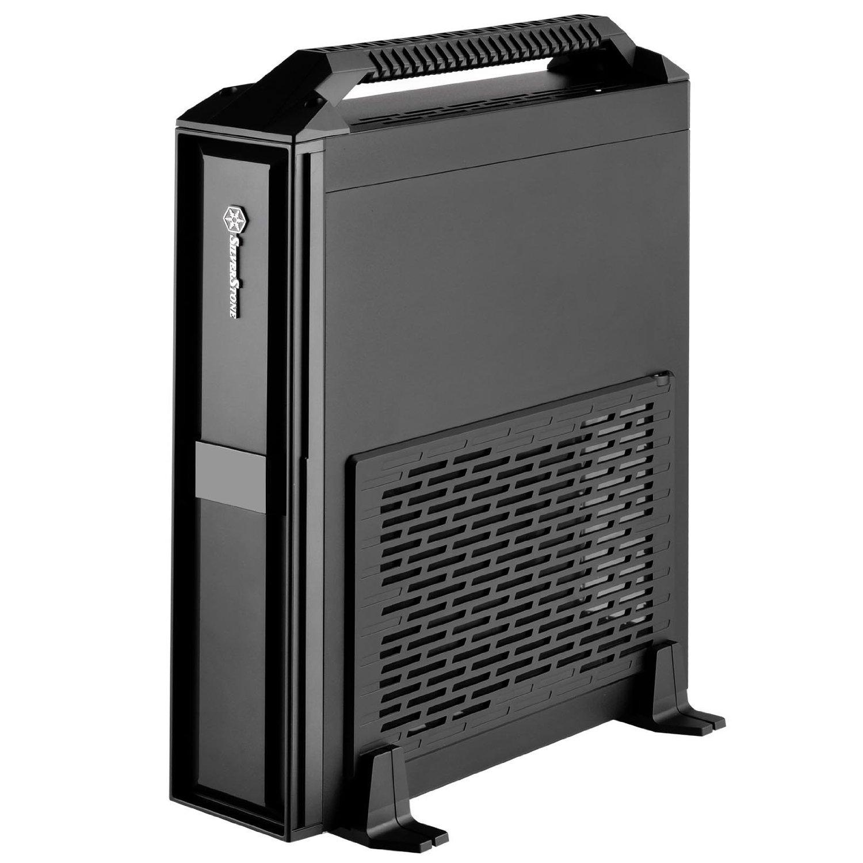 Silverstone SST-ML08B-H USB3.0 Milo HTPC - black Datora korpuss