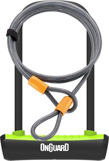 ONGUARD Zapiecie rowerowe U-Lock Neon zielone 10x1200 mm (8154GR) ONG-8154GR