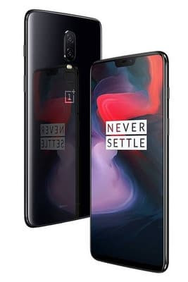 OnePlus 6 A6003 Dual SIM 128GB Mirror Black Mobilais Telefons