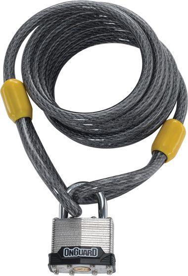ONGUARD Zapiecie rowerowe Doberman Key 8033 zolto-szara (22923) ONG-8033