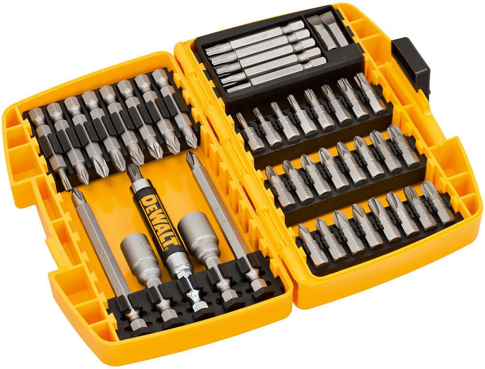 DeWalt Bit Set DT71518-QZ Minisafe - 45-piece - yellow / black