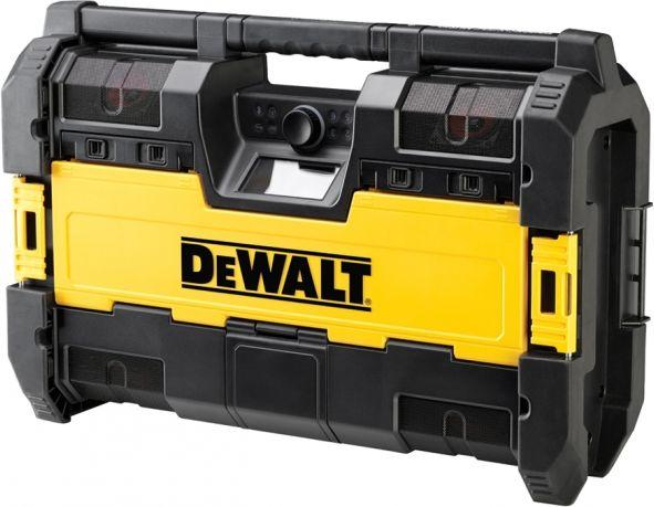 DeWalt Radio battery or mains opperated DWST1-75659 (black color) magnetola