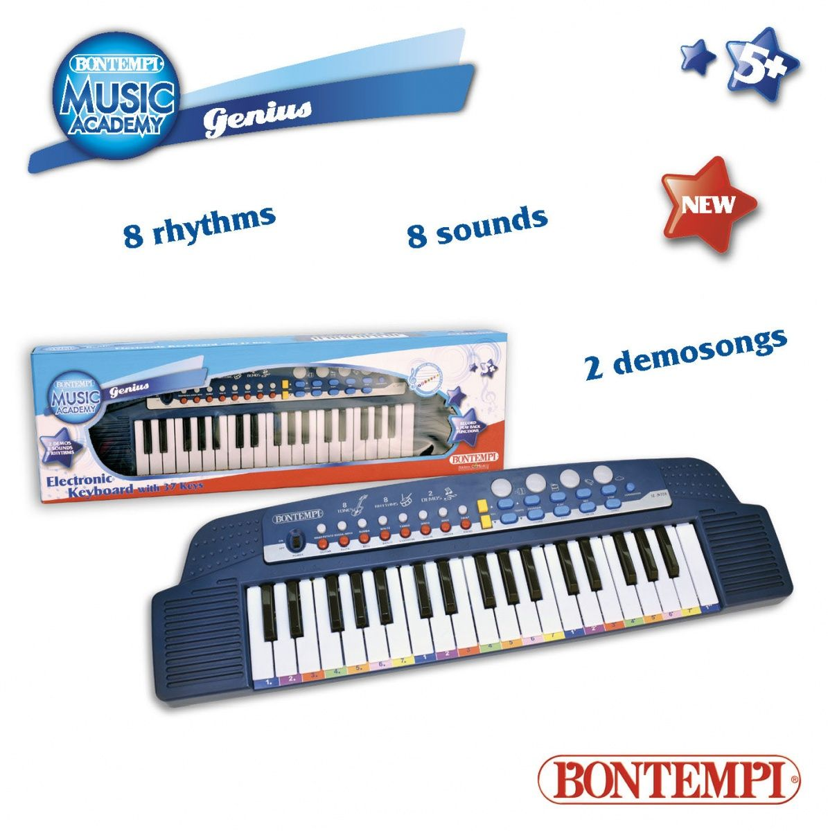 Dante Bontempi Star 37 key Keydoard (041-33563) 041-33563