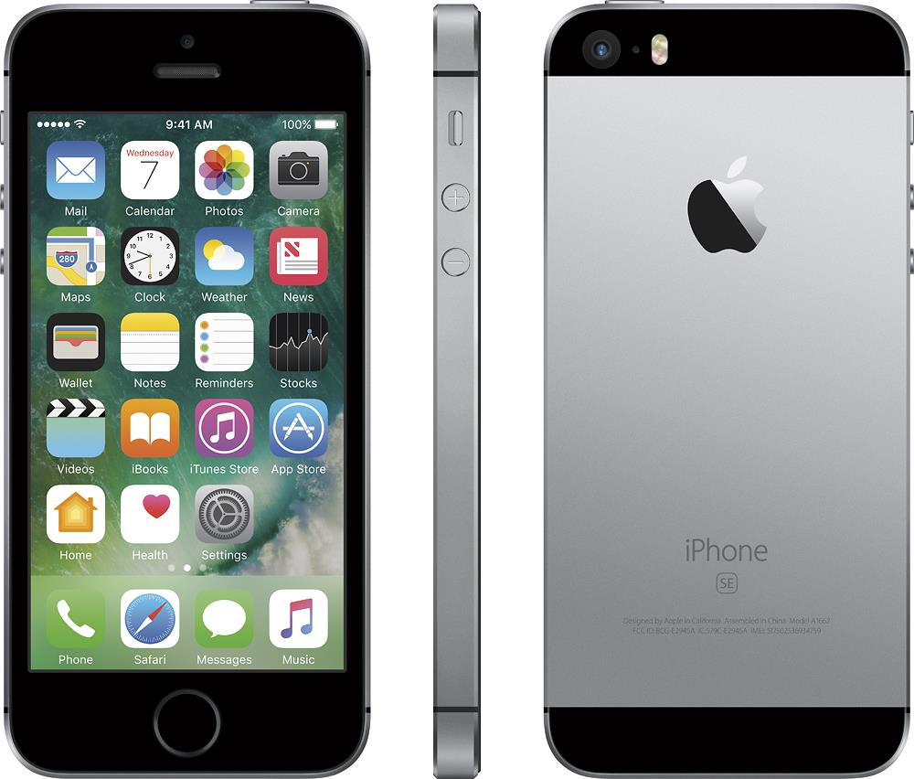 Apple iPhone SE 16GB Space Gray EU HQ Refurbished