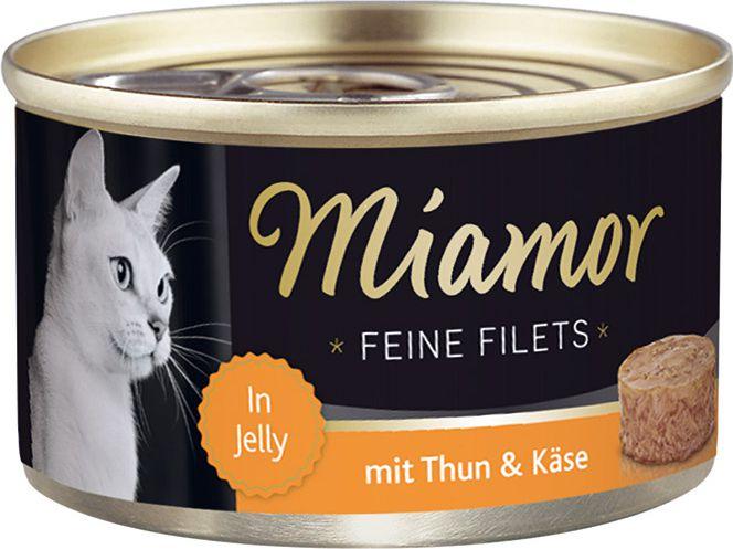 FINNERN Miamor Feine Filets puszka Tynczyk i ser - 100g 74046 kaķu barība