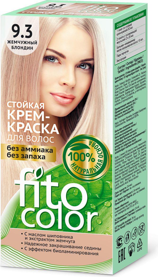 Fitocosmetics Fitocolor Farba-krem do wlosow nr 9.3 perlowy blond  1op. 3022440