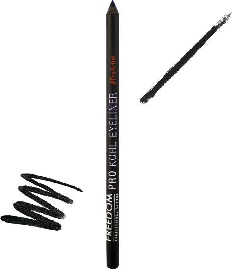 FREEDOM  Pro Kohl Eyeliner Black 773098 acu zīmulis