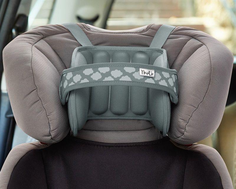 NapUp Headband supporting the car seat - gray Bērnu sēdeklīšu aksesuāri