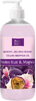 Fresh Juice Zel pod prysznic kremowy Passion Fruit i Magnolia 500ml 812777