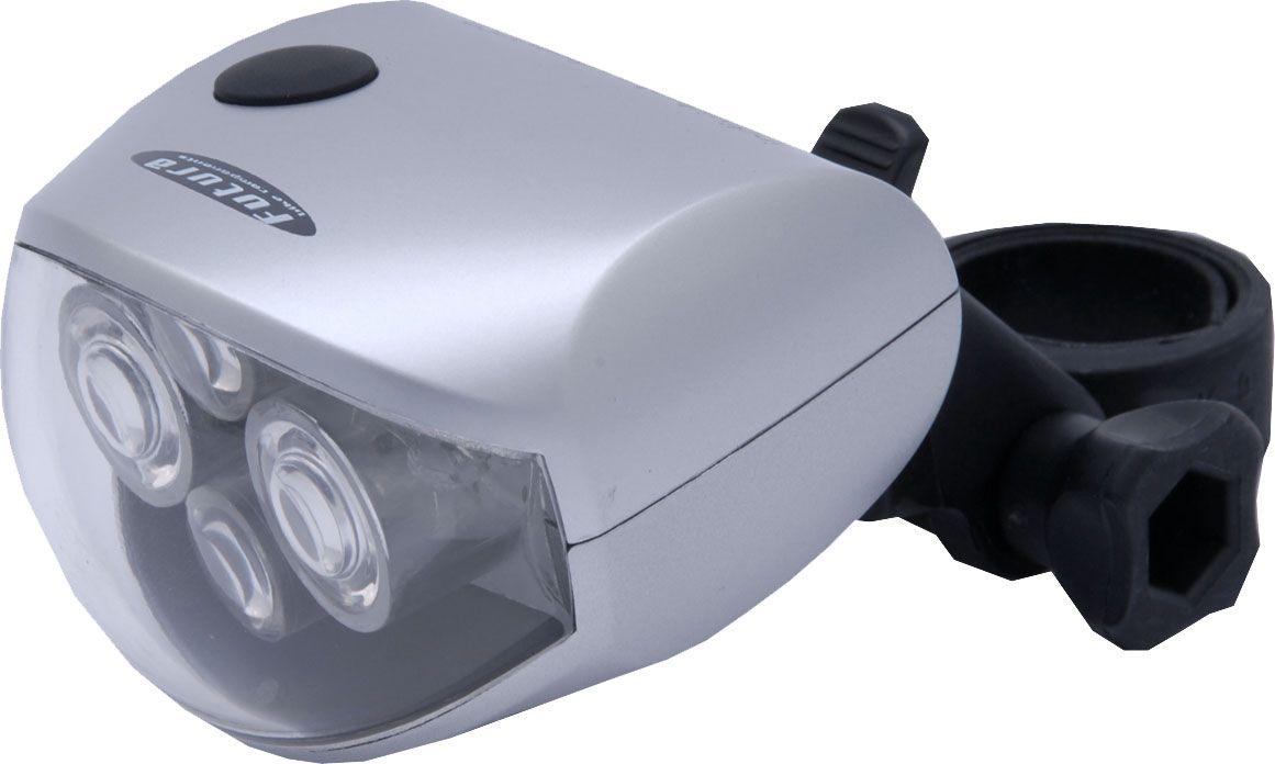 Futura Lampka przednia 4FOUR + baterie srebrna (FUT-OS-P-FOUR) FUT-OS-P-FOUR