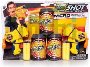 X-SHOT Micro podwojny Rotaļu ieroči