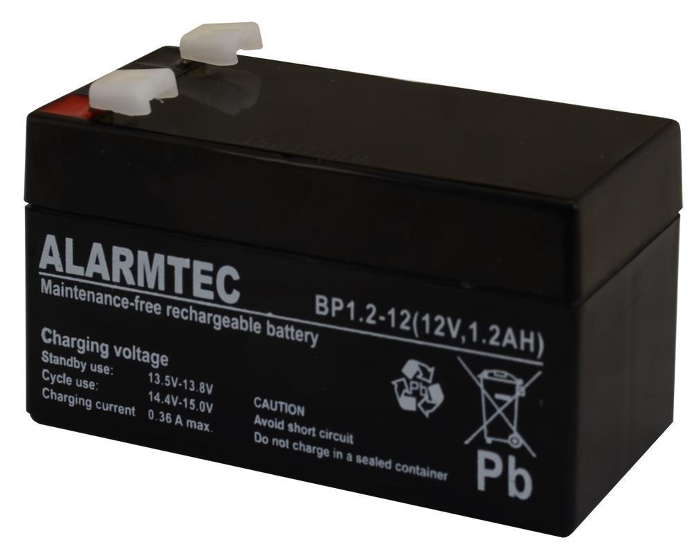 EMU BATTERY 12V 1.2AH VRLA/BP1.2-12 ALARMTEC UPS aksesuāri