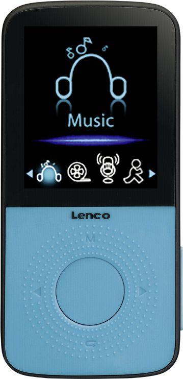 Odtwarzacz MP3 Lenco Blue (PODO-153B) MP3 atskaņotājs