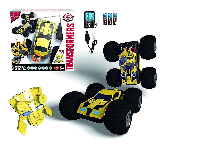 RC Flip n Race Bumblebee RTR Radiovadāmā rotaļlieta