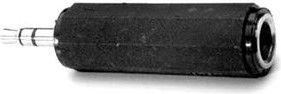 Adapter AV Logo Jack 3.5mm - Jack 6.3mm black (24965)