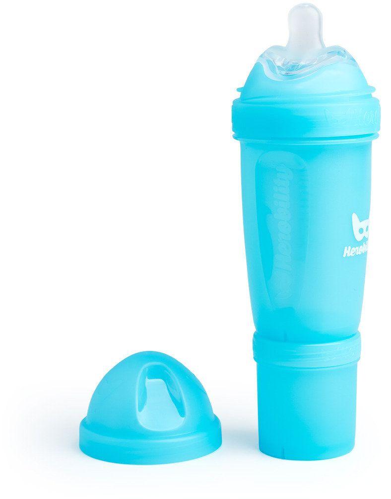 Herobility Butelka antykolkowa 240 ml Niebieska 7350004050161 aksesuāri bērniem