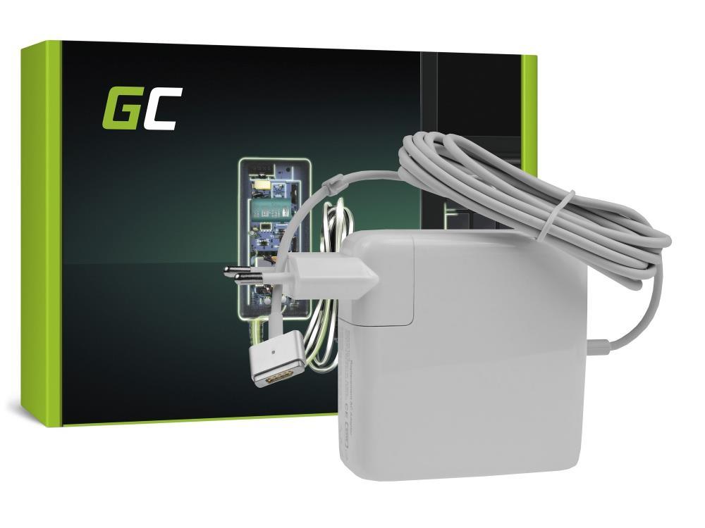 Green Cell for Apple Macbook Pro MAGSAFE 2 85W/18.5V/4.6A/Magsafe 2 portatīvo datoru lādētājs