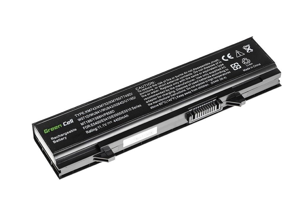 Green Cell Dell Latitude E5400 E5500 E5410 11.1V 6 cell DE29 akumulators, baterija portatīvajiem datoriem
