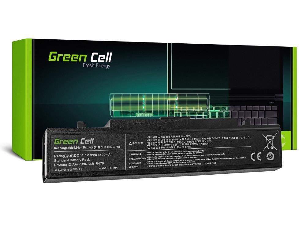 Battery Green Cell AA-PB9NC6B AA-PB9NS6B for Samsung R519 R522 R525 R530 R540 R5 akumulators, baterija portatīvajiem datoriem