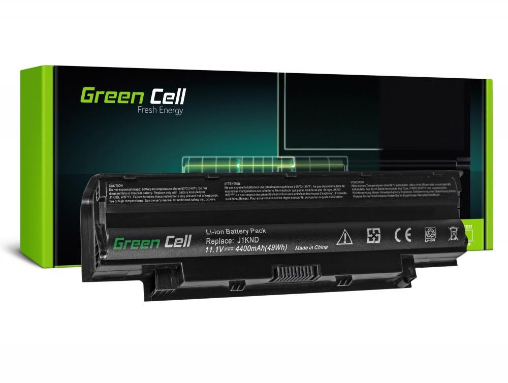 Green Cell  J1KND Dell Inspiron N4010 N5010 13R 14R 15R 17R 11.1V 6 cell - DE01 akumulators, baterija portatīvajiem datoriem
