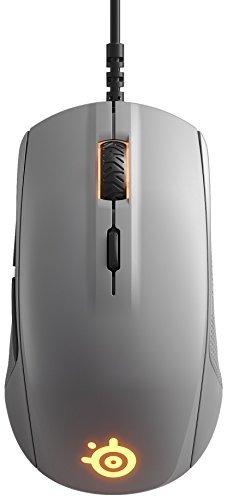 SteelSeries Rival 110 - grey Datora pele