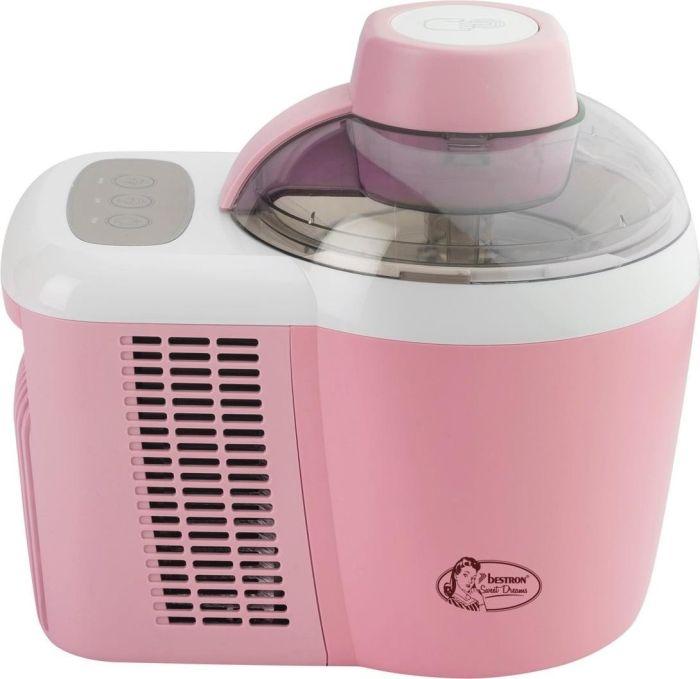 Bestron Ice Cream Maker AIM700 - pink/white AIM700