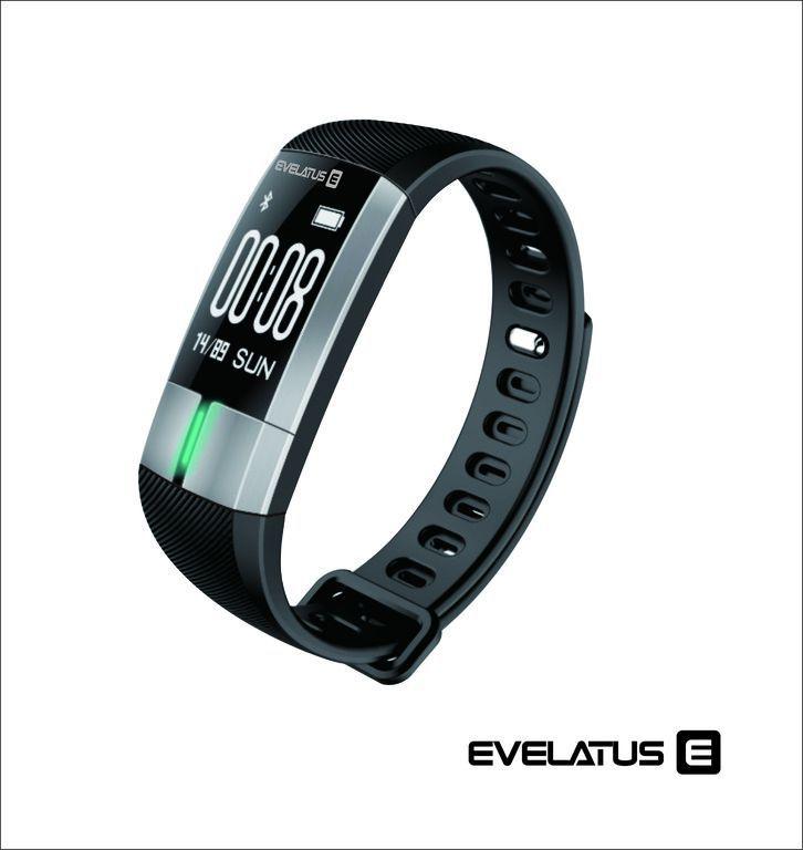 Evelatus Fitness Tracker EFT01 Black Viedais pulkstenis, smartwatch