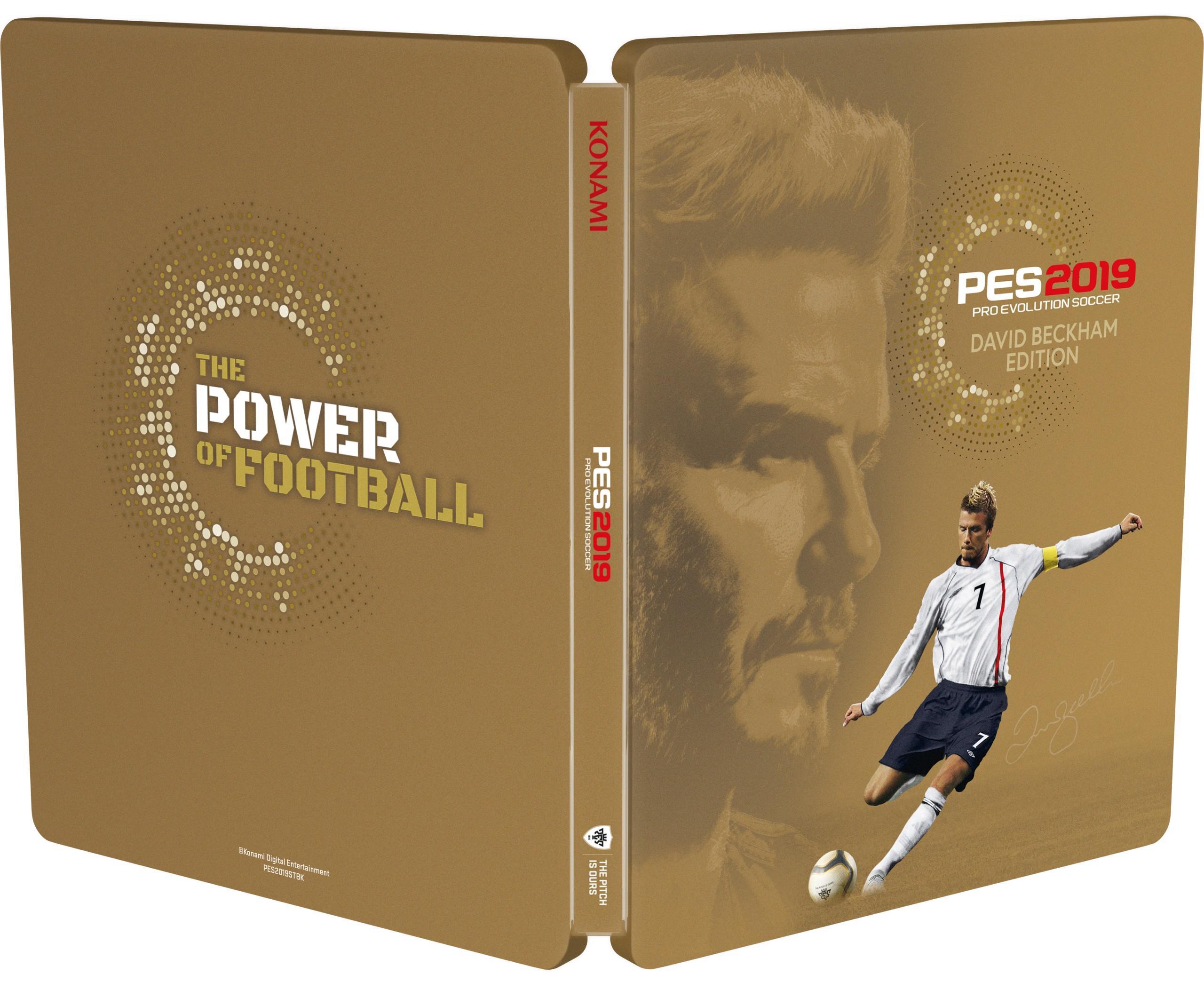 Konami Pro Evolution Soccer 2019 David Beckham Edition (PS4)