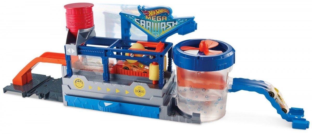 Hot Wheels City Mega Car Wash