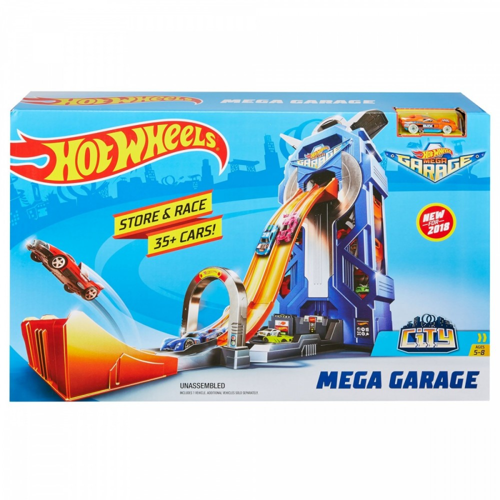 Hot Wheels Mega Garage (Good) FTB68
