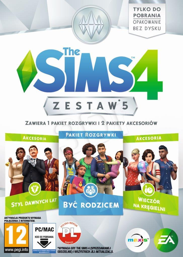Gra PC Sims 4 Zestaw 5 spēle