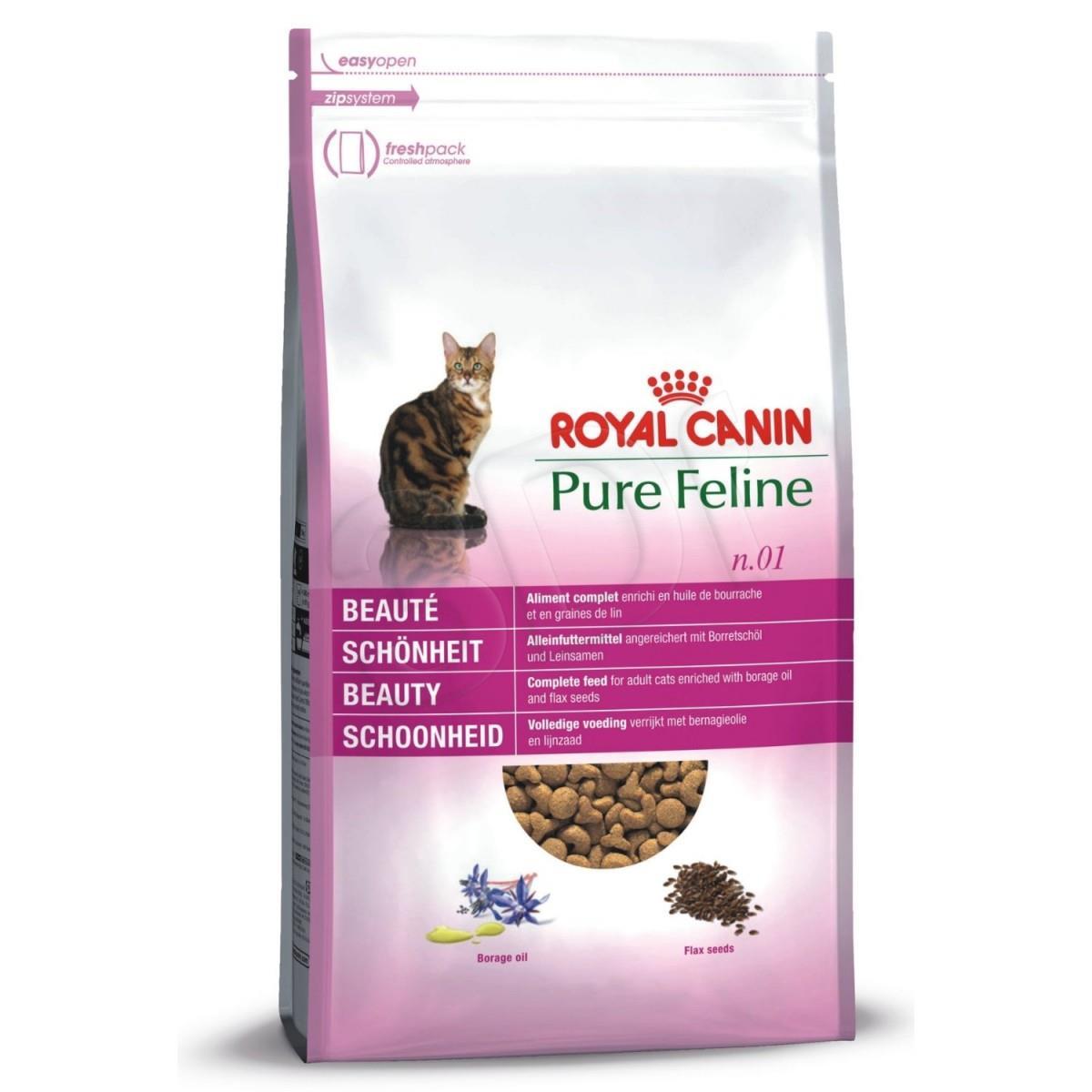 Pure Feline N1 Beauty 33 3kg kaķu barība
