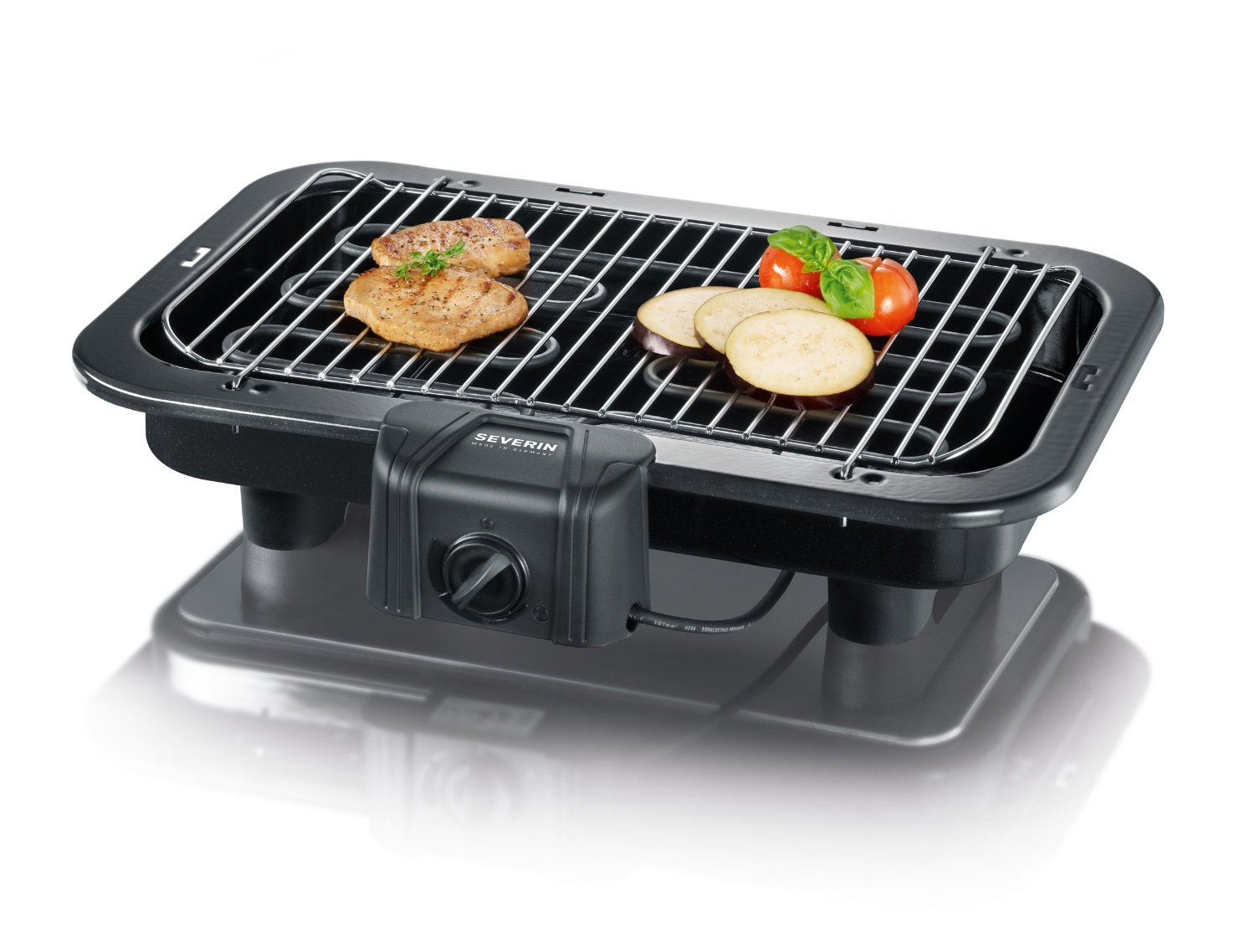 Severin Table barbecue PG 2790 2500W black Galda Grils