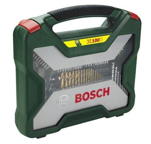 Bosch Titanium X-Line Tool Set 100 parts Instrumentu apstrādei