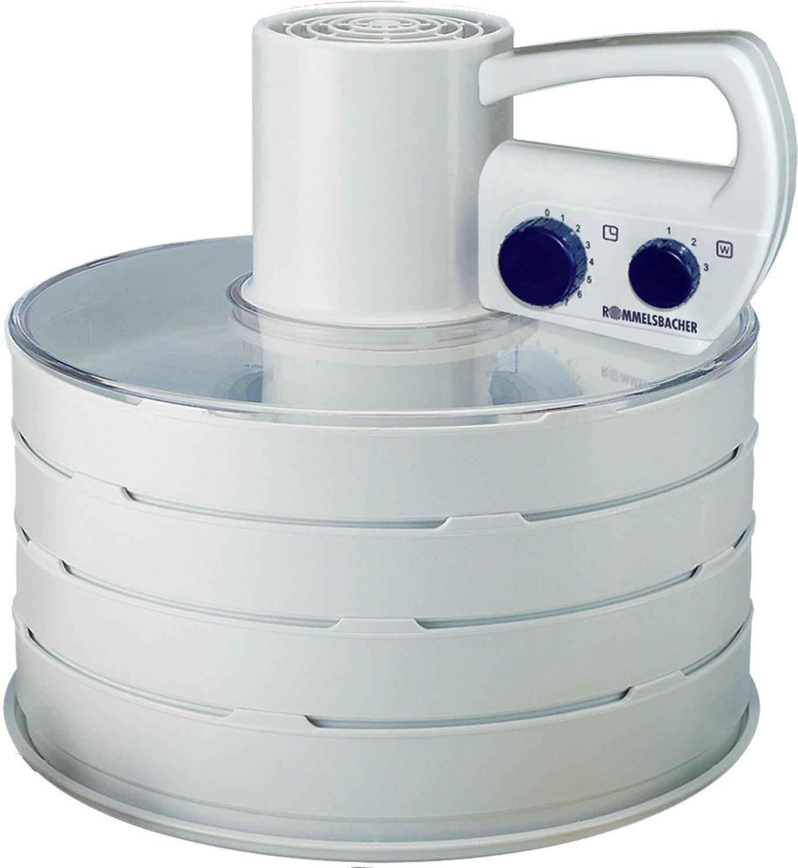 Rommelsbacher DA 750 Automatic Food Dehydrator, 4 shelves, Timer, 700W, White Augļu žāvētājs