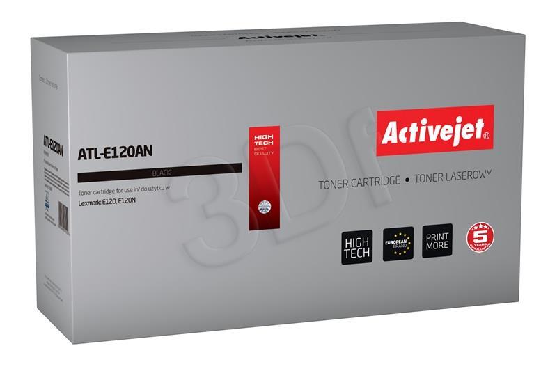 Toner Activejet ATL-E120AN (replacement Lexmark 12016SE; Premium; 2000 pages; black) ATL-E120AN