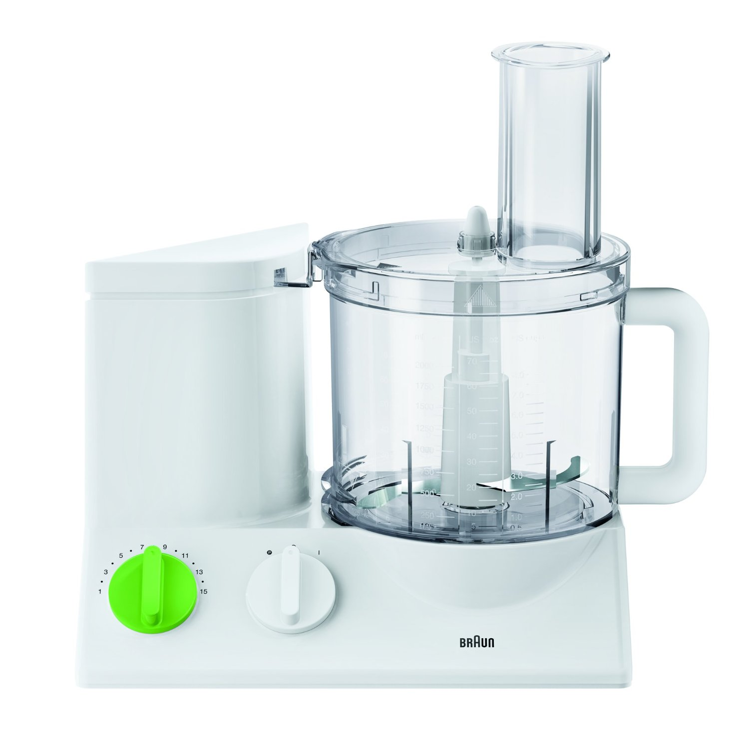 Braun Food processor FP 3010 800W white - Tribute Collection Virtuves kombains