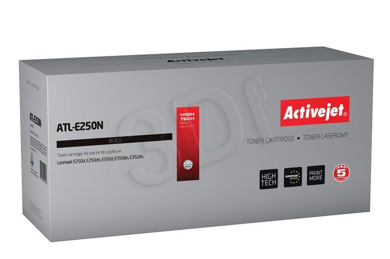 Toner Activejet ATL-E250N (replacement Lexmark E250A11E; Supreme; 3500 pages; black) ATL-E250N